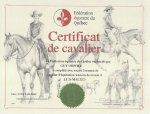 Cavalier d'équitation western de niveau 4